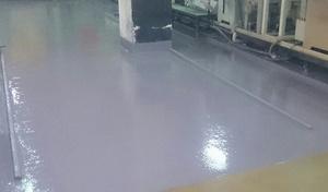 生產線FRP耐酸鹼地坪工程 施工