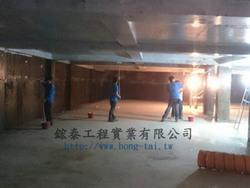 廢水處理調和池防蝕工程 -FRP耐酸鹼防蝕工程 施工