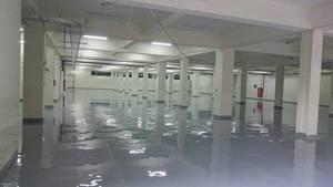 廠房EPOXY流展地板 施工
