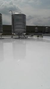 透天屋頂 PU防水隔熱塗佈工程施工