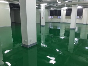 FRP地板-耐酸鹼流展地坪工程施工