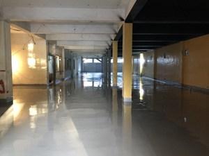 電鍍廠FRP耐酸鹼流展地坪工程施工