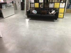 工業風強化水泥無縫地板工程