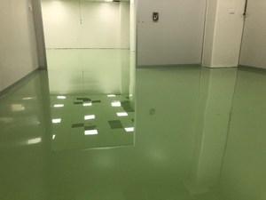 無塵室-環氧樹脂EPOXY無塵地板 流展地板施工