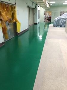 Flowcrete優固地坪-防黴抗菌重載耐高低溫止滑地板