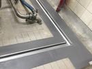 白鐵水溝槽安裝/Flowcrete優固地坪-防黴抗菌重載耐高低溫止滑地板施作