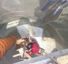 白鐵錐型桶槽FRP耐酸鹼工程 施工