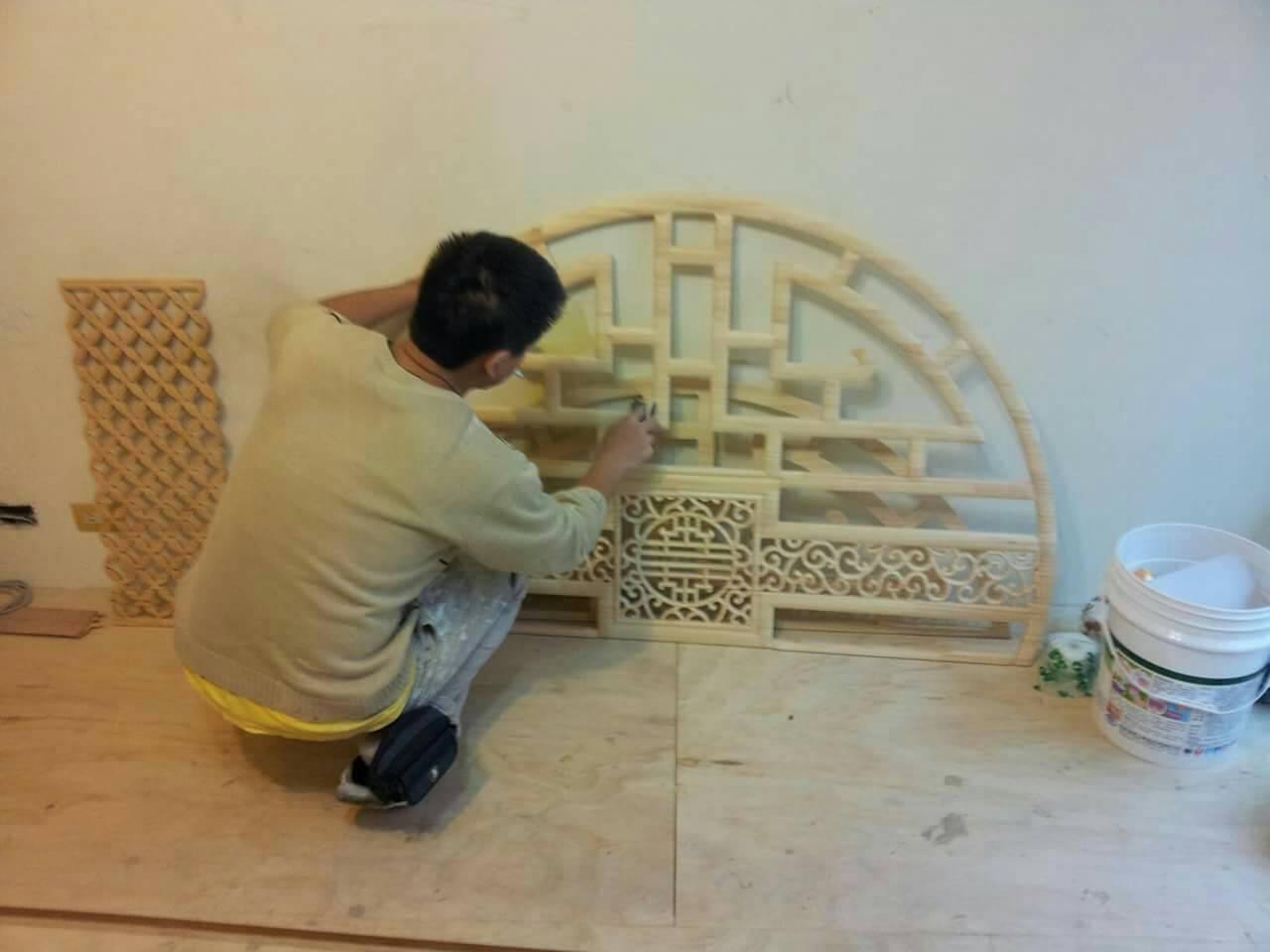 木工装潢烤漆/石头漆-喷漆工程