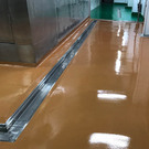 Flowcrete優固地坪 - 食品廠 止磨、防滑地坪施工